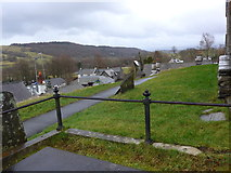 SD3598 : St Michael and All Angels, Hawkshead: churchyard (12) by Basher Eyre