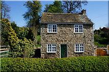 SE4529 : Rose Cottage on Park Lane, Ledsham by Ian S