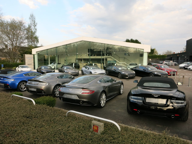 Aston Martin Dealership Harston Hugh Venables Ccbysa - Aston martin dealerships