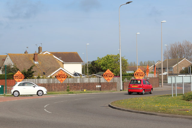 Liberal Democrats posters by Langney Roundabout