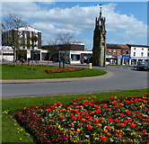SP2871 : Clock Tower at the Square, Kenilworth by Mat Fascione