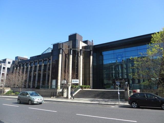 Royal Bank of Scotland offices, Dundas Street, Edinburgh
