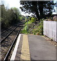 SN6215 : Heart of Wales Line towards Ammanford from Llandybie by Jaggery