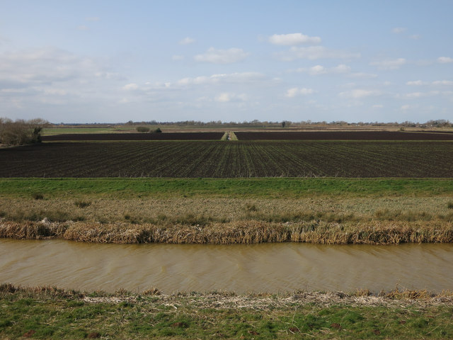 Farmland near Fortrey's Hall