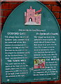 SP3478 : Historical information plaque, Gosford Street, Coventry by Jaggery