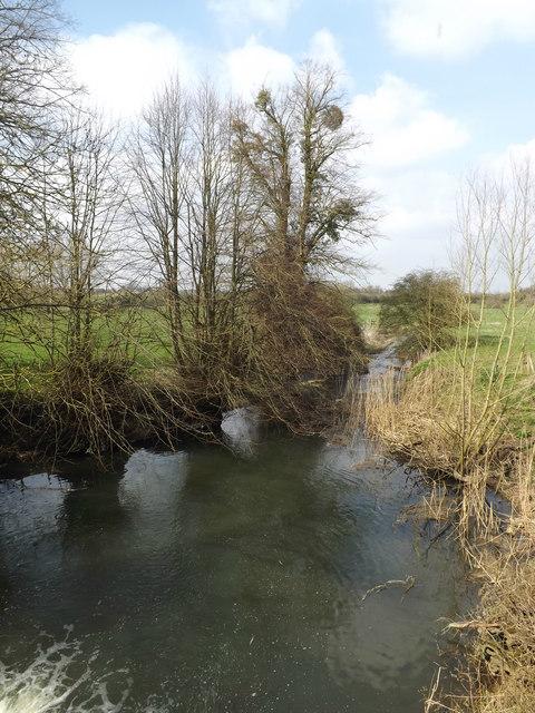 River Dove at Abbey Bridge