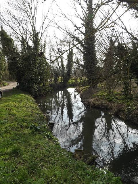 River Dove near Abbey Bridge