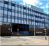 SP3378 : Zebra crossing to the James Starley Building entrance steps, Coventry by Jaggery
