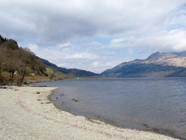 West shore of Loch Lomond