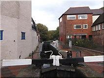 SO8554 : Sidbury Lock, Birmingham and Worcester Canal by Eirian Evans