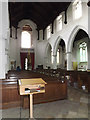 TM1473 : Inside of St.Peter & St. Paul's Church by Geographer