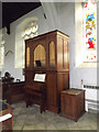 TM1473 : Organ of St.Peter & St.Paul Church by Adrian Cable