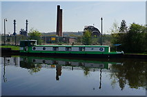 SE4326 : Peace Lily on the Aire & Calder Navigation at Castleford by Ian S