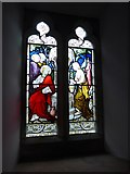 SD3389 : St Paul, Rusland: stained glass window (3) by Basher Eyre