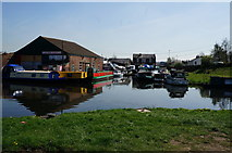 SE4226 : Canal Boats at Castleford by Ian S