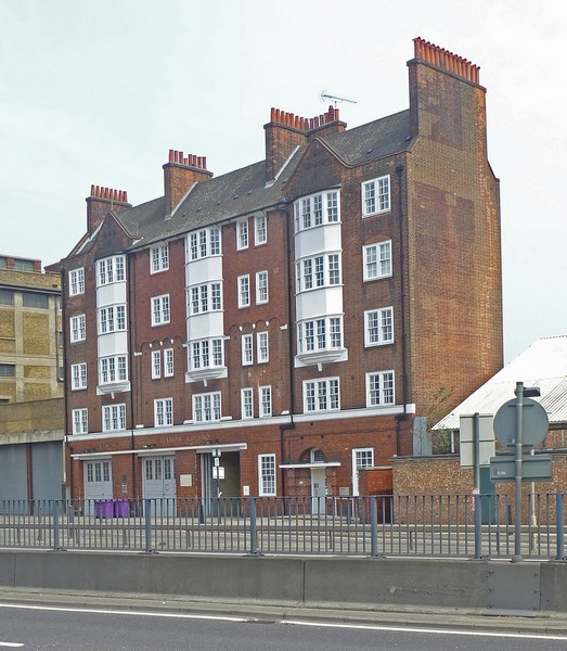 Former LCC fire station, Bromley-by-Bow
