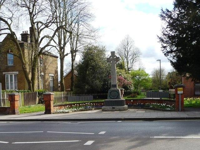 War memorial, Penge High Street