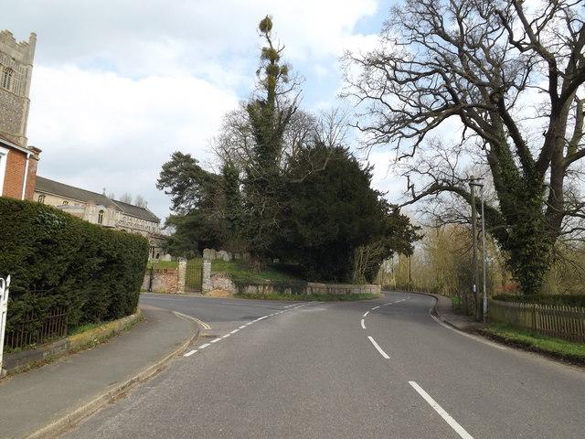 B1117 Castle Street, Eye