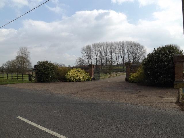 Entrance to Church Farm