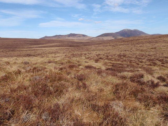 Looking down the Big Garvery Burn towards the Scarabens