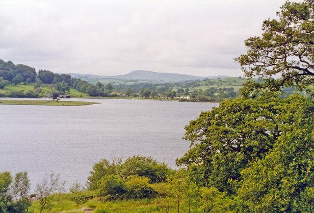 North (Bala) end of Llyn Tegid, 1993