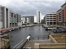 SE3032 : Clarence Dock, Leeds by Richard Sutcliffe