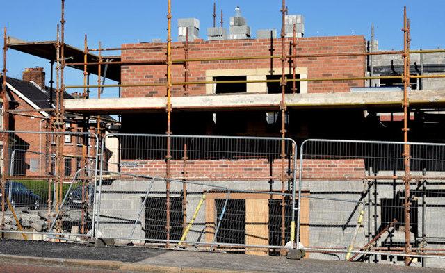 Holywood Road development site, Belfast - April 2015(2)