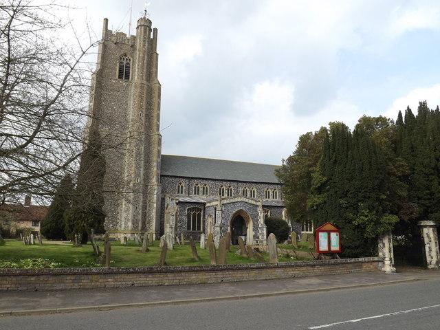 All Saints Church, Stradbroke