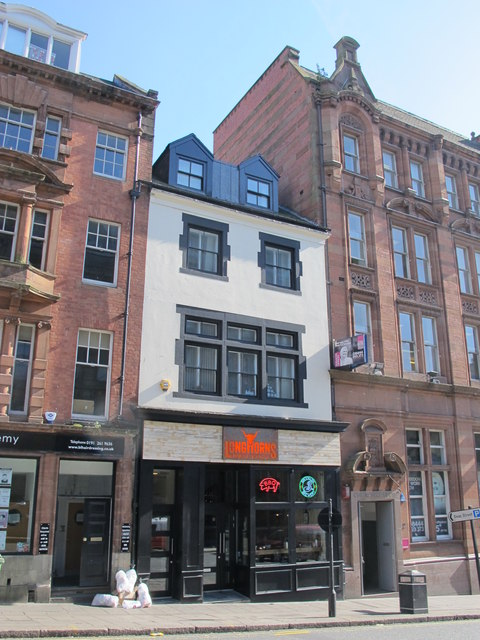 Late 18th C house, Mosley Street, NE1