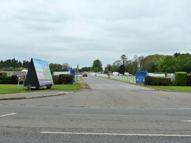 Entrance, Royal Windsor Racecourse