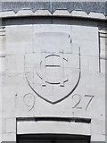 NZ2564 : Date stone on Carliol House, Market Street (East), NE1 by Mike Quinn