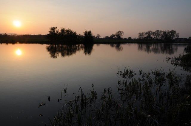Croome River at sunset
