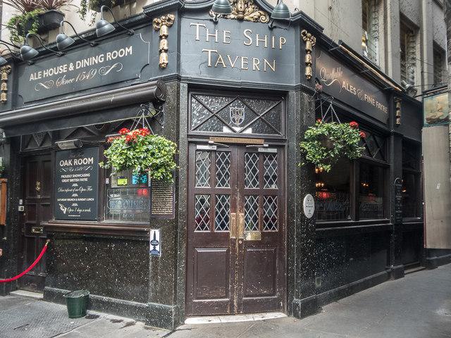 The Ship Tavern, Gate Street, London WC1