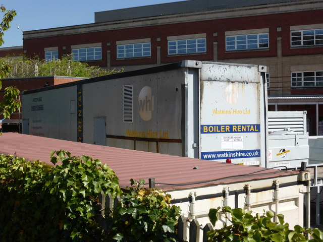 Worcestershire Royal Hospital - portable boiler