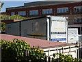 SO8754 : Worcestershire Royal Hospital - portable boiler by Chris Allen