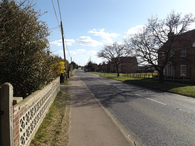 B1069 Church Road, Snape