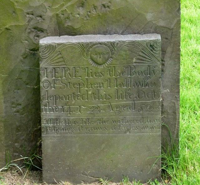 Belvoir Angel headstone, Long Clawson Churchyard