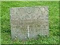 SK7227 : Belvoir Angel headstone, Long Clawson Churchyard by Alan Murray-Rust