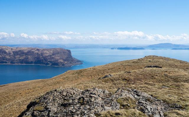 Summit ridge of Cruach Ianagairt