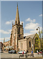 SO5140 : St Peter's church, Hereford by Julian P Guffogg