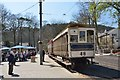 SC4384 : Electric tram at Laxey station by Jim Barton