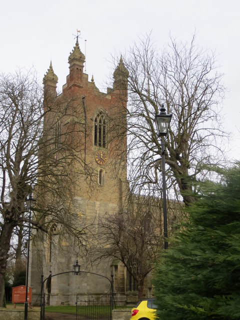 The Tower of All Saints Church at Cottenham