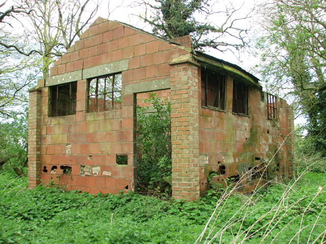 WW1 building in Whin Close
