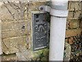 TL4376 : Ordnance Survey Flush Bracket 1207 by Peter Wood