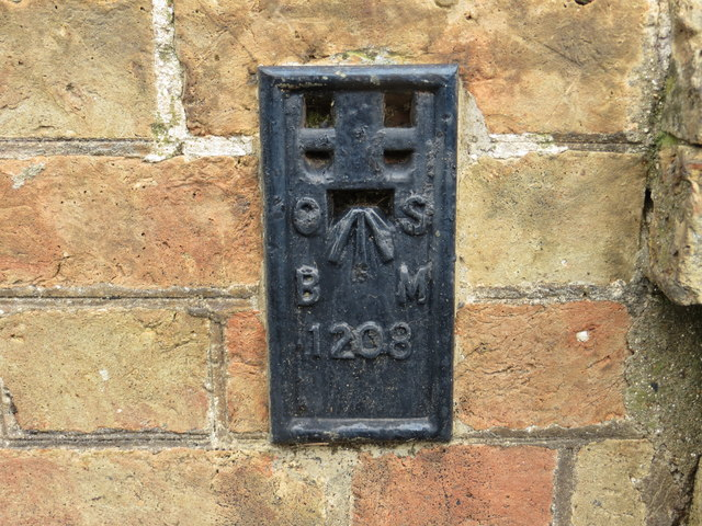Ordnance Survey Flush Bracket 1208