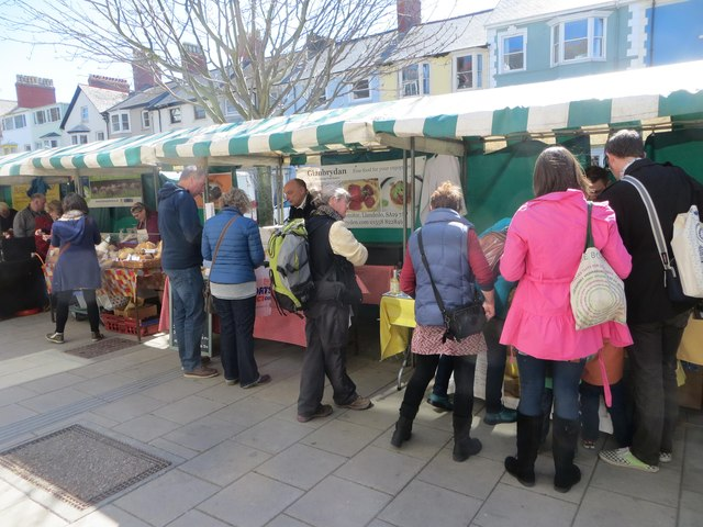 Farmers' Market, Aberystwyth
