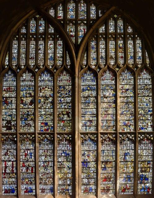 Great East Window, Malvern Priory