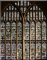 SO7745 : Great East Window, Malvern Priory by Julian P Guffogg