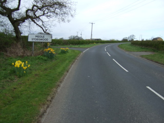 Entering Middle Stobswood