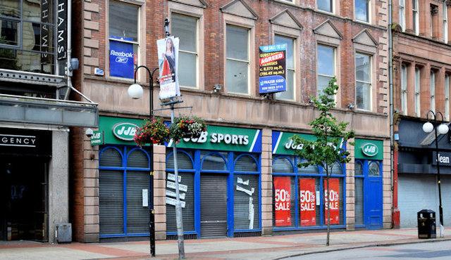 Nos 58-66 Royal Avenue, Belfast (July 2014)